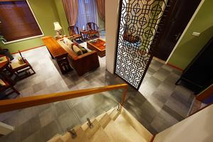 166平米简约东南亚风格复式楼室内装修效果图鉴赏