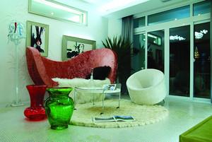 后现代简约风格大户型室内装修效果图鉴赏