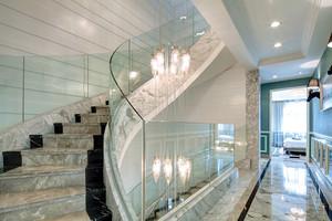 现代简约法式风格别墅室内装修效果图赏析