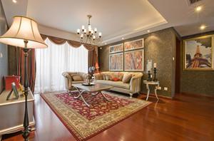 现代简约法式风格四室两厅装修效果图赏析