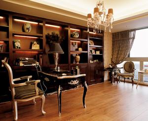 186平米古典欧式风格别墅室内装修效果图赏析