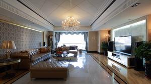 精致欧式风格大户型室内装修效果图赏析