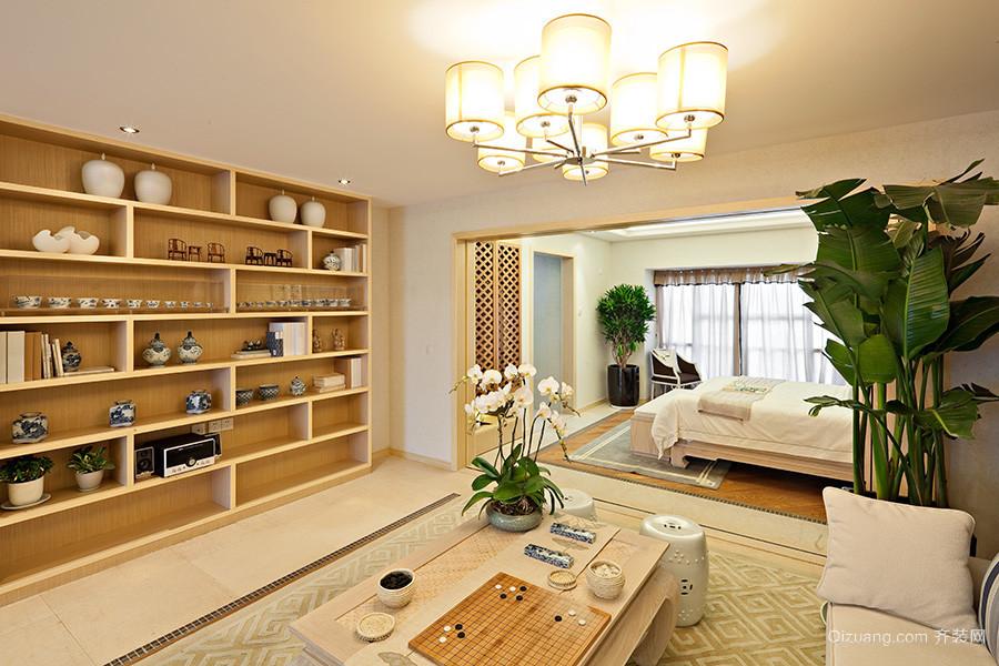 109平米欧式田园风格两室两厅装修效果图赏析