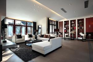 新中式风格三室两厅装修效果图鉴赏