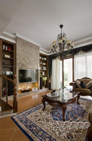 200平米古典欧式风格别墅室内装修效果图赏析