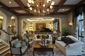 200平米欧式风格精致典雅三层别墅装修效果图鉴赏