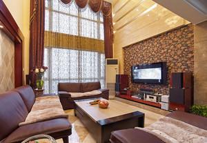 179平米精致东南亚风格复式楼室内装修效果图赏析