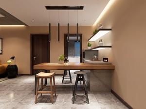 现代简约风格餐厅吧台设计装修效果图赏析