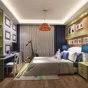 30平米现代简约风格儿童房装修效果图鉴赏