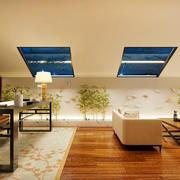 现代简约风格斜顶阁楼装修效果图赏析