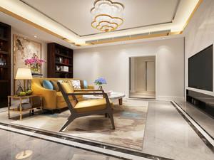 20平米现代简约风格客厅装饰画装修效果图