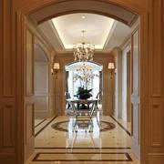 欧式风格别墅室内餐厅门套设计装修效果图
