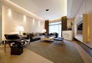 169平米简约日式风格三居室装修效果图鉴赏