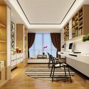 现代简约中式风格书房榻榻米装修效果图赏析