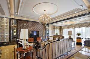 新古典主义风格精致奢华大户型室内装修效果图