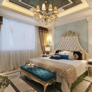 精致法式风格卧室吊顶设计装修效果图赏析