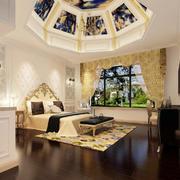 法式风格精致典雅卧室吊顶装修效果图鉴赏