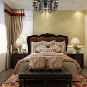 美式风格大户型室内卧室衣柜装修效果图