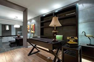 129平米新中式风格三室一厅一卫装修效果图赏析