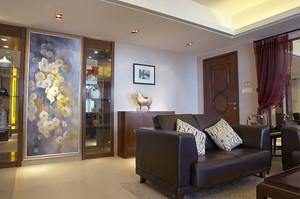 古朴简约中式风格两居室装修效果图鉴赏