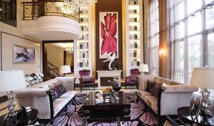 300平米复古欧式宫廷奢华风格别墅室内装修效果图