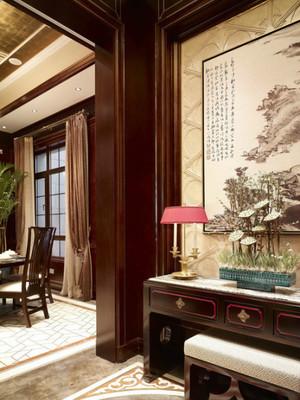 古典欧式风格三室两厅两卫装修效果图赏析