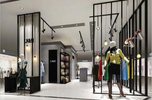 80平米后现代风格服装店设计装修效果图赏析