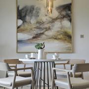 120平米后现代风格简约时尚餐厅装修效果图