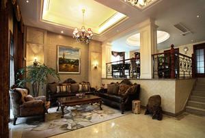 169平米简欧风格复式楼室内整体设计装修效果图