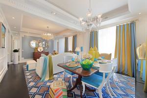 366平米地中海风格别墅室内装修效果图赏析