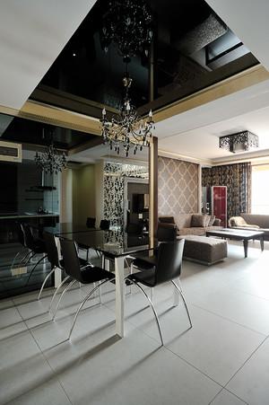 简约后现代风格两室两厅一卫装修效果图赏析