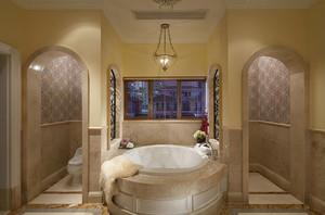 379平米美式风格别墅室内整体设计装修效果图赏析