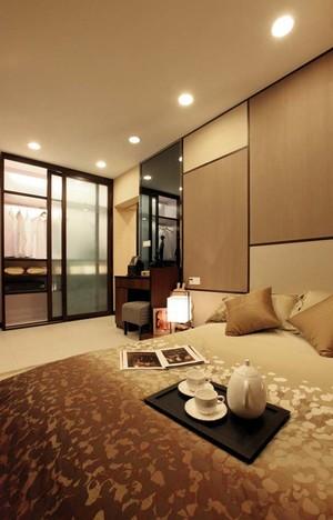 96平米日式简约风格男生公寓装修效果图赏析
