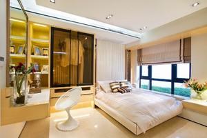 现代简约欧式风格三室两厅两卫装修效果图赏析