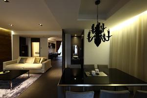 169平米后现代风格三室两厅一卫装修效果图赏析