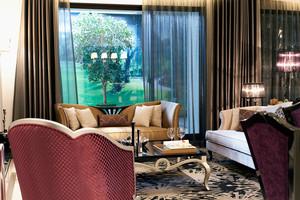 精致典雅欧式风格三室两厅两卫装修效果图赏析