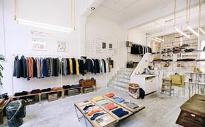 146平米现代简约风格服装店展示台设计装修效果图