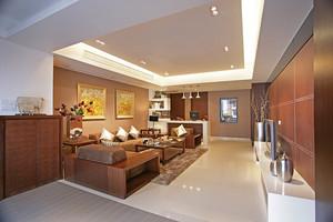 新中式风格两室两厅一厨一卫装修效果图赏析