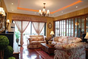 99平米欧式风格时尚混搭精装修两居室装修效果图