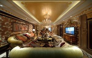 176平米大户型古典欧式风格室内装修效果图