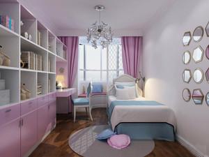 16平米简欧风格儿童房设计装修效果图赏析
