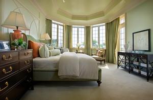 210平米美式风格两层别墅室内装修效果图