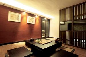 日式简约风格大户型室内装修效果图赏析