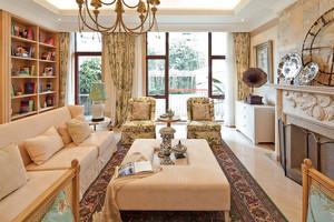 简约东南亚风格独栋别墅室内整体装修效果图赏析