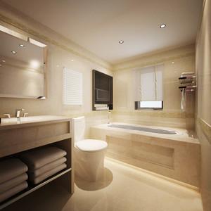 现代简约风格卫生间洗手盆装修效果图