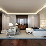 大户型欧式风格卧室背景墙装修效果图赏析