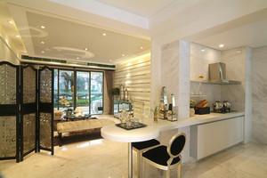 126平米现代简约风格两室两厅一卫装修效果图赏析