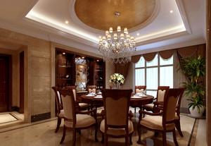 216平米欧式风格跃层式住宅室内装修效果图
