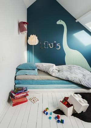 简欧风格三居室女生儿童房装修效果图赏析