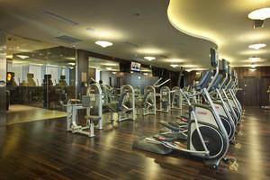 210平米现代风格健身房装修效果图赏析